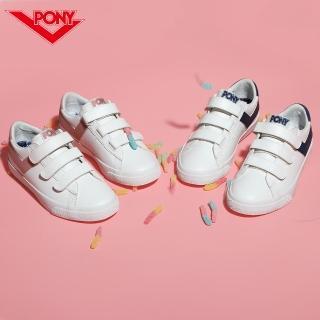 【PONY】TOP STAR時尚百搭魔鬼氈 小白鞋 休閒鞋 運動鞋 男鞋 女鞋 四色  PONY