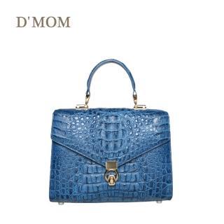 【DMOM】典藏工藝鱷魚時尚包(藍)  DMOM