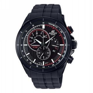 【CASIO 卡西歐】EDIFICE計時碼錶系列 Red Bull紅牛F1賽車款/47mm/黑(EFR-561PB-1AVUDF)  CASIO 卡西歐