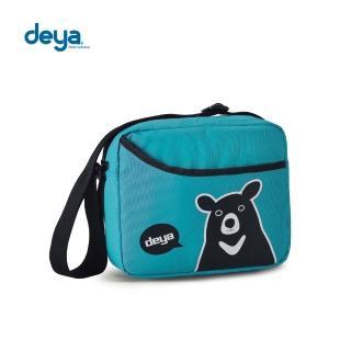 【deya】熊側背包(湖水綠)好評推薦  deya