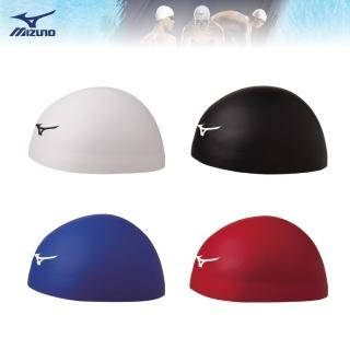 【MIZUNO 美津濃】GX SONIC HEAD三次元立體矽膠泳帽 N2JW800200(泳帽)強力推薦  MIZUNO 美津濃