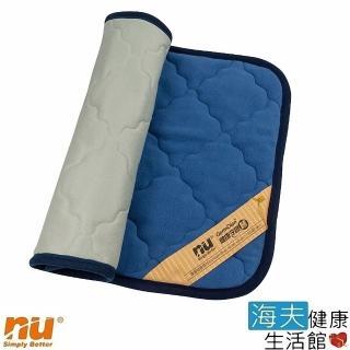 【海夫健康生活館】NU 恩悠數位 舒眠健康能量雙面枕墊(75x45cm)  海夫健康生活館