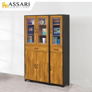 【ASSARI】海灣1.3尺書櫃(寬40x深30x高187cm) 推薦  ASSARI