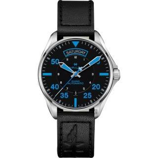 【HAMILTON 漢米爾頓】AIR ZERMATT 飛行員系列機械錶-42mm(H64625731)  HAMILTON 漢米爾頓