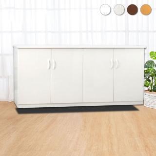 【Bernice】5.5尺四門防水塑鋼收納櫃/置物櫃(四色可選)  Bernice