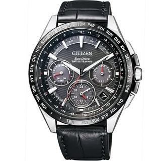 【CITIZEN 星辰】GPS衛星光動能時尚腕錶-黑44mm(CC9015-03E)  CITIZEN 星辰