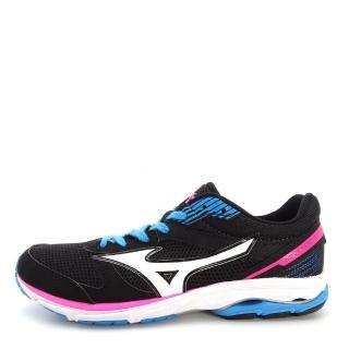 【MIZUNO 美津濃】Mizuno Wave Aero 16 女鞋 運動 走路 跑步 氣墊 避震 休閒 美津濃 黑白(J1GB173503)推薦折扣  MIZUNO 美津濃