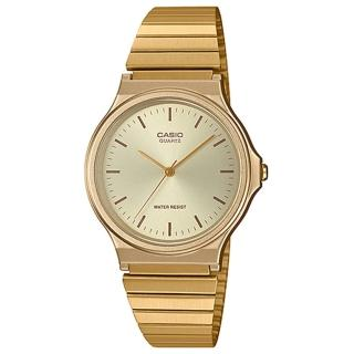 【CASIO 卡西歐】CASIO 簡約指針男錶 不鏽鋼錶帶 日常生活防水(MQ-24G-9E)好評推薦  CASIO 卡西歐