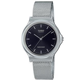 【CASIO 卡西歐】CASIO 簡約指針錶 米蘭錶帶 日常防水 可調式錶扣(MQ-24M-1E) 推薦  CASIO 卡西歐
