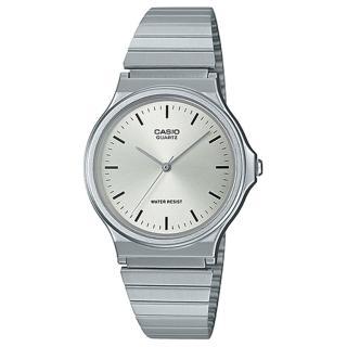 【CASIO 卡西歐】CASIO 簡約指針男錶 不鏽鋼錶帶 日常生活防水(MQ-24D-7E)  CASIO 卡西歐