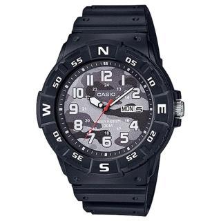 【CASIO 卡西歐】CASIO 酷炫指針男錶 橡膠錶帶 迷彩錶面(MRW-220HCM-1B)推薦折扣  CASIO 卡西歐