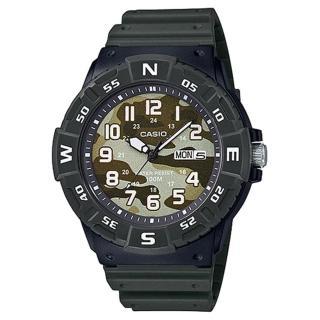 【CASIO 卡西歐】CASIO 酷炫指針男錶 橡膠錶帶 迷彩錶面(MRW-220HCM-3B)推薦折扣  CASIO 卡西歐