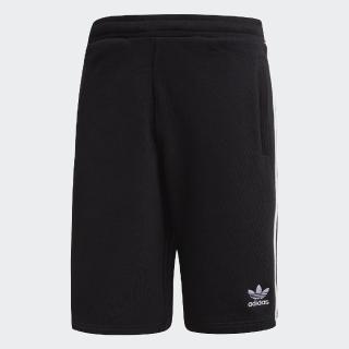 【adidas 愛迪達】運動短褲 3-Stripes Shorts 男款 愛迪達 三葉草 路跑 健身 重訓 基本款 黑 白(DH5798)優惠推薦  adidas 愛迪達