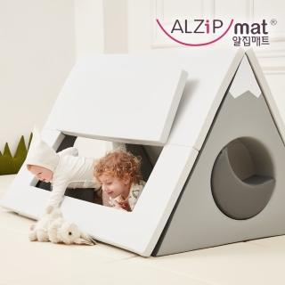 【Alzipmat】韓國 HOUSE TENT SET 小屋帳篷 遊戲墊 -(北歐小山)折扣推薦  Alzipmat
