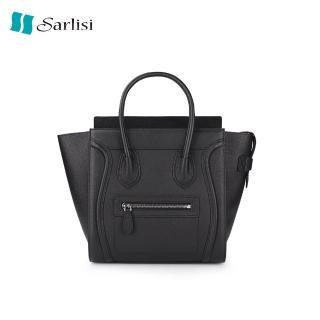 【Sarlisi】真皮牛皮包手提包餃子包笑臉包(歷史最低價 買到賺到)  Sarlisi