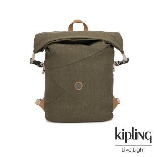 【KIPLING】城市探索橄欖綠插扣3way百變後背包-REDRO-EDGELAND系列  KIPLING