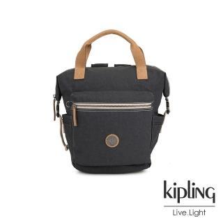 【KIPLING】城市探索霧灰雙側插扣手提後背兩用包-TSUKI S-EDGELAND系列  KIPLING
