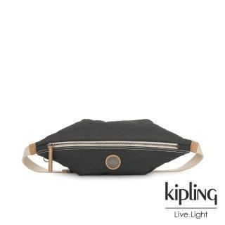 【KIPLING】城市探索霧灰六角腰包-YOKU-EDGELAND系列評價推薦  KIPLING