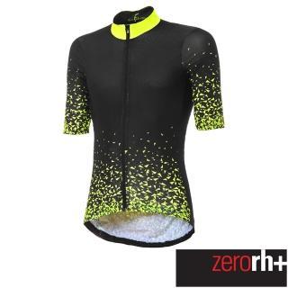 【ZeroRH+】義大利慧星系列男仕專業自行車衣(螢光黃 ECU0628_45P)  ZeroRH+
