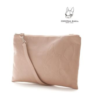 【CRYSTAL BALL】Leather 2way clutch bag手拿包  CRYSTAL BALL