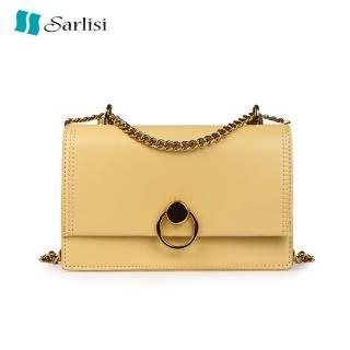 【Sarlisi】女包新款時尚春夏鏈條圓環韓版網紅小方包百搭款好評推薦  Sarlisi