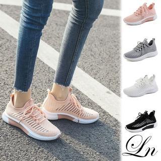 【LN】現+預 韓版鏤空透氣運動休閒鞋(休閒鞋 運動鞋)  LN