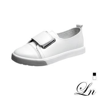 【LN】現+預 韓風淺口魔鬼氈休閒鞋(休閒鞋)  LN