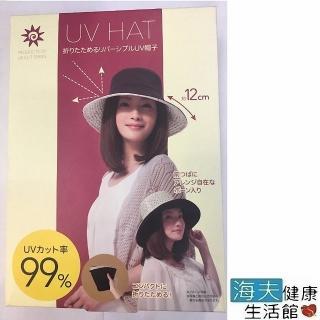 【海夫健康生活館】抗UV可折疊雙面寬緣帽 防曬遮陽帽品牌優惠  海夫健康生活館