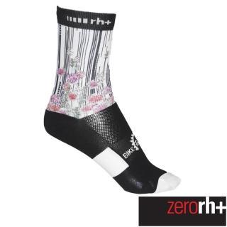 【ZeroRH+】義大利實花系列專業高筒運動襪-15cm(白色 ECX9108_49P)優惠推薦  ZeroRH+