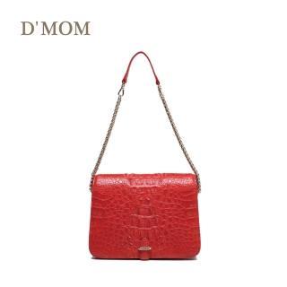 【DMOM】西班牙時尚名模鱷魚包(紅色)  DMOM