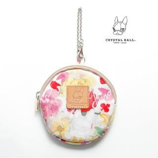 【CRYSTAL BALL】flower shower零錢小物包 推薦  CRYSTAL BALL