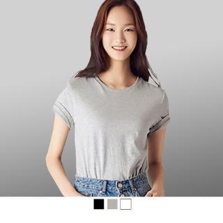 【男人幫】圓領純棉彈性素面T恤(SL034)好評推薦  男人幫