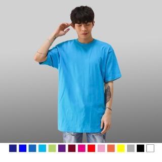 【男人幫】韓國情侶百搭純棉彈性素面T恤(SL037) 推薦  男人幫