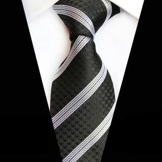 【拉福】領帶8cm寬版黑倫領帶手打領帶好評推薦  拉福