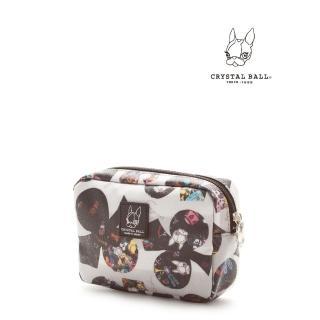 【CRYSTAL BALL】TOY BOX CLOVER化妝小物包折扣推薦  CRYSTAL BALL