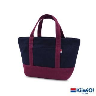 【Kiiwi O!】輕便隨行系列帆布托特包 ANNE 紅/藍  Kiiwi O!
