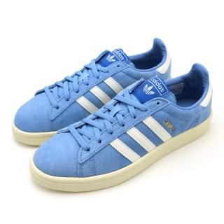 【adidas 愛迪達】CAMPUS W 藍-B37936(女休閒鞋)  adidas 愛迪達