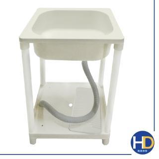 【雙手萬能】輕巧塑鋼單水槽/洗衣槽(加大款) 推薦  雙手萬能