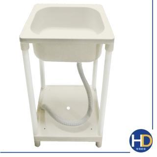 【雙手萬能】輕巧塑鋼單水槽/洗衣槽  雙手萬能