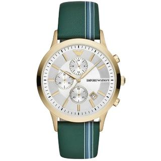 【EMPORIO ARMANI】義式經典計時手錶-43mm(AR11233)  EMPORIO ARMANI
