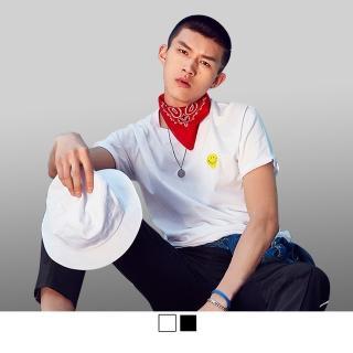 【男人幫】韓國英文字母印花短袖純棉T恤(BK017)優惠推薦  男人幫