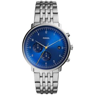 【FOSSIL】Chase Timer 計時手-藍銀42mm(FS5542)  FOSSIL