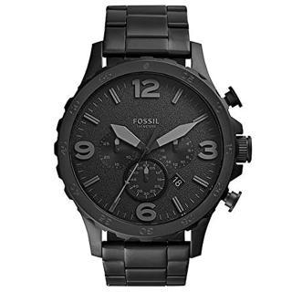 【FOSSIL】NEUTRA 時尚流行計時腕錶-黑50mm(JR1401)  FOSSIL