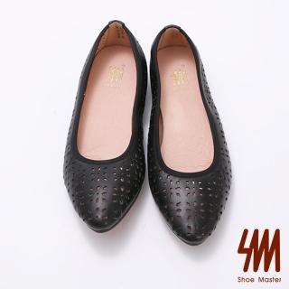 【SM】透氣縷空羊皮柔軟娃娃鞋(透氣羊皮柔軟娃娃鞋)  SM