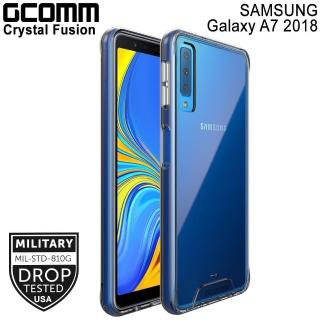 【GCOMM】Galaxy A7 2018 晶透軍規防摔殼 Crystal Fusion(Galaxy A7 2018)
