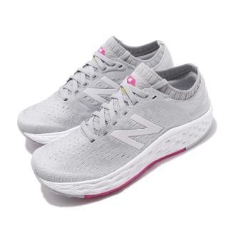 【NEW BALANCE】慢跑鞋 WVNGOGG4D 寬楦 運動 女鞋 紐巴倫 輕量 透氣 舒適 避震 路跑 灰 白(WVNGOGG4D)好評推薦  NEW BALANCE