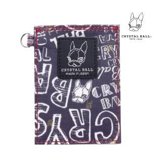 【CRYSTAL BALL】Hippie Graphic Pass Holder時尚票卡套/夾  CRYSTAL BALL