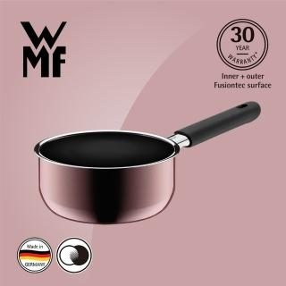 【WMF】Fusiontec 單手鍋 16cm 1.3L(金屬玫瑰 赭紅色)  WMF