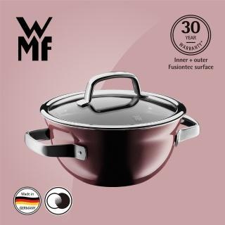 【WMF】Fusiontec 調理鍋 20cm 2.3L(金屬玫瑰 赭紅色)好評推薦  WMF