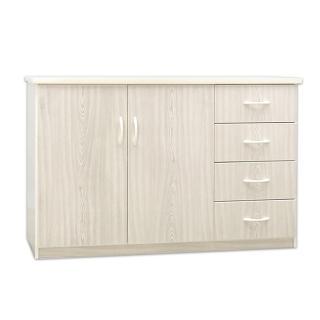 【Bernice】4.2尺二門四抽防水塑鋼收納櫃/置物櫃(四色可選)  Bernice